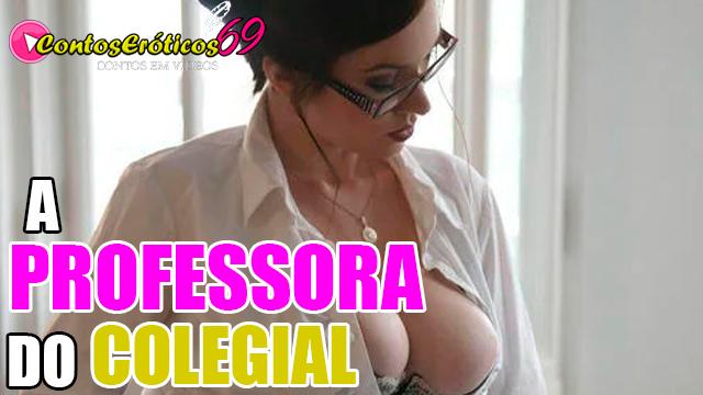 A PROFESSORA DO COLEGIAL